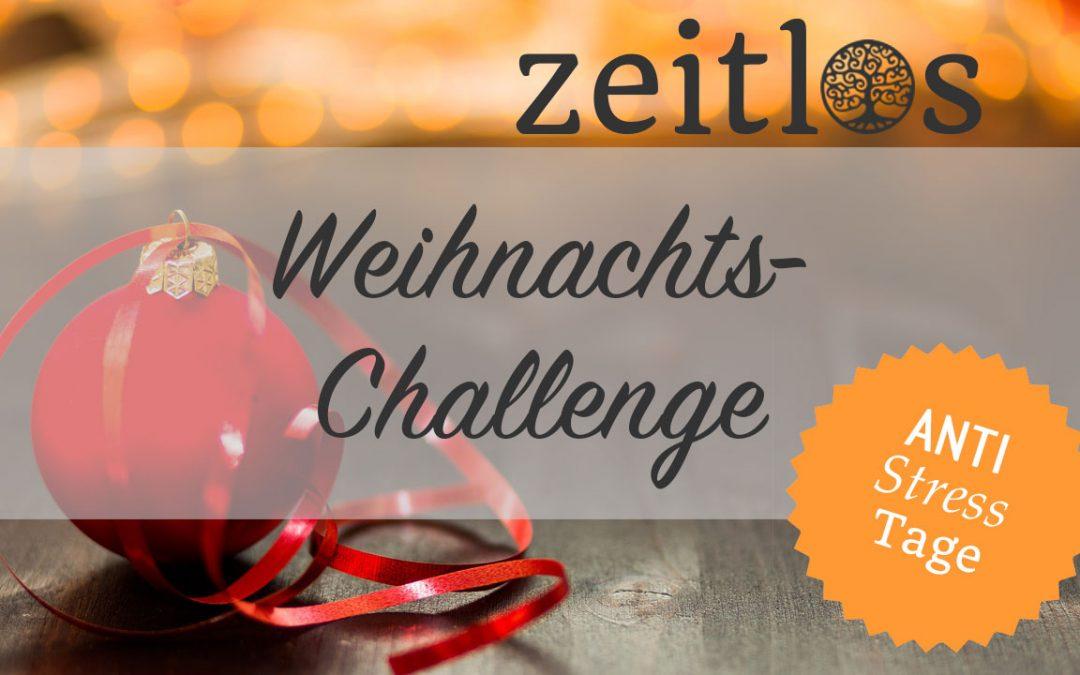 Jammerfreie Weihnachts-Challenge