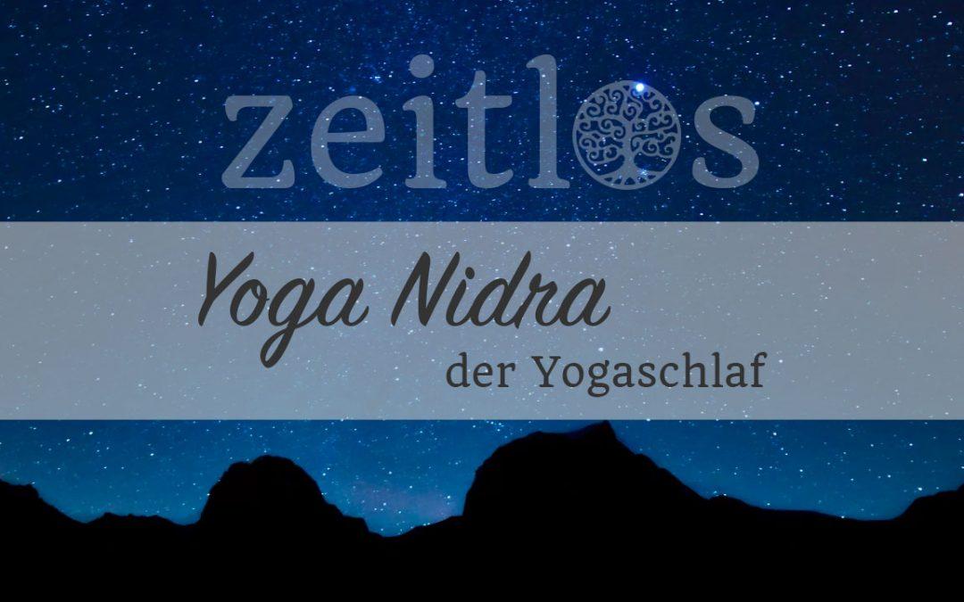 Yoga Nidra – Gedankenstopp und körperliche Tiefenentspannung