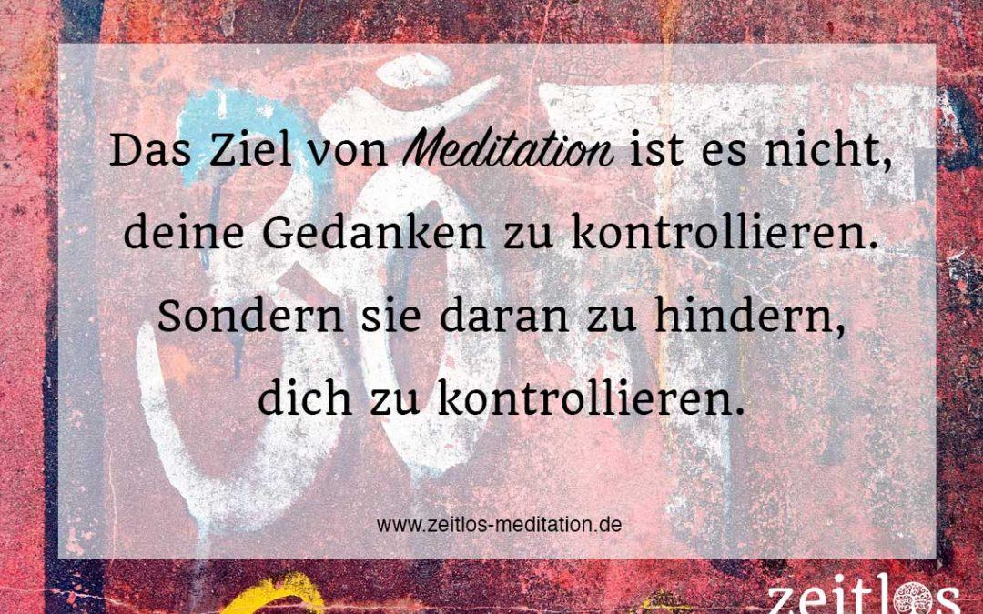 Meditation – Was ist das?