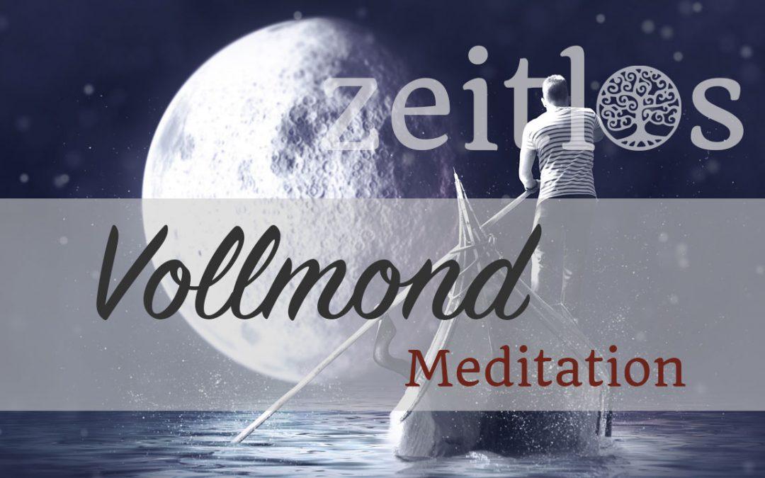 Vollmond Meditation: Eine magische Reise in der Vollmondnacht
