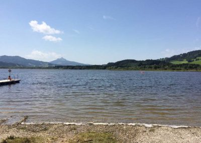 Freier Nachmittag am See