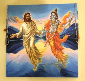 Jesus und Krishna - Hand in Hand!