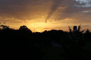 Einer von vielen wunderschönen Sonnenäufgängen, die ich erleben durfte!