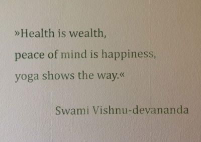 Spruch Vishnu devananda