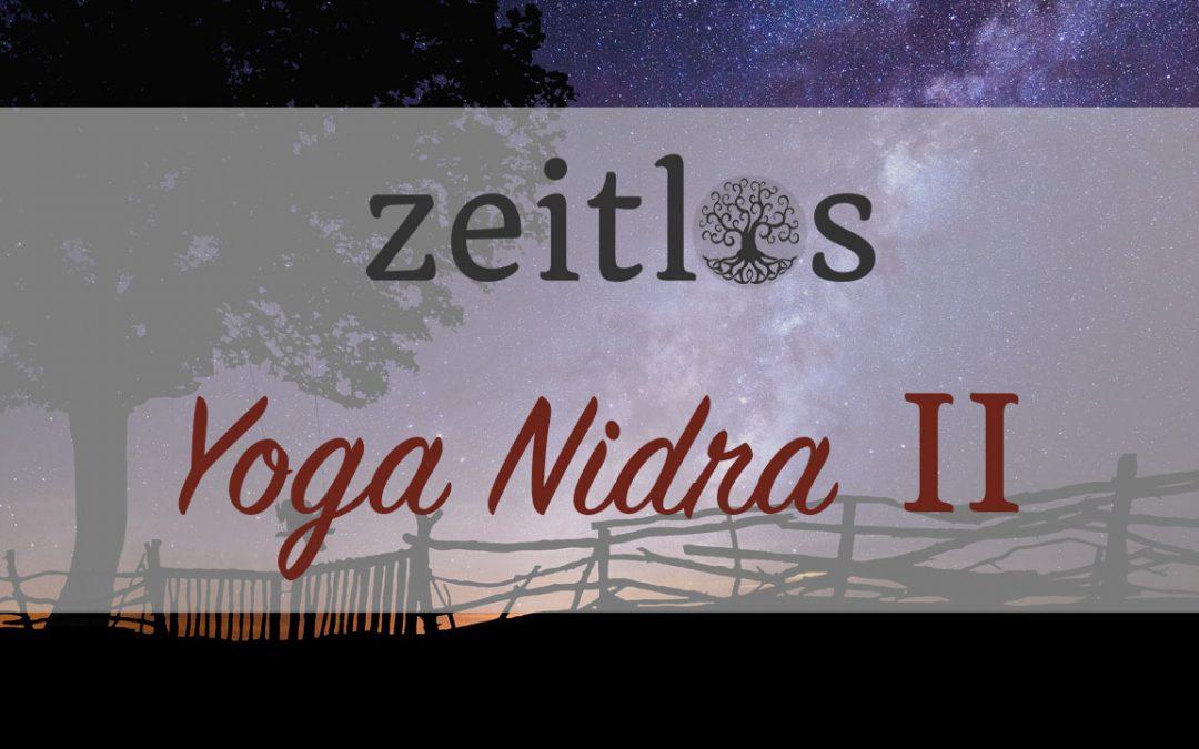 Yoga Nidra – Sankalpa, der Entschluss