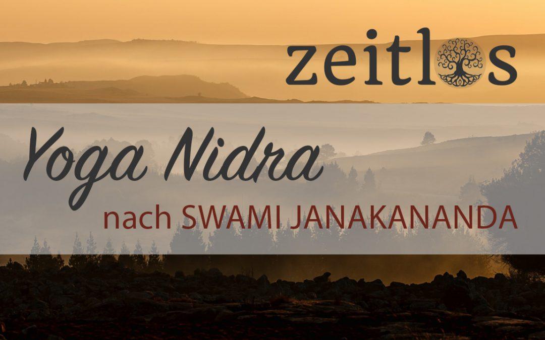 Yoga Nidra nach Swami Janakananda